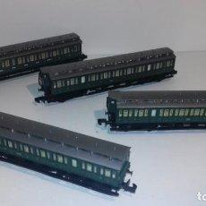 Trenes Escala: ARNOLD N 4 VAGONES PASAJEROS PRUSIANOS -- L47-213 (CON COMPRA DE CINCO LOTES O MAS ENVÍO GRATIS). Lote 242160205