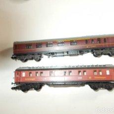 Trenes Escala: ARNOLD Y MINITRIX EN PERFECTO ESTADO, PRACTICAMENTE NUEVOS. Lote 245442815