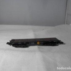 Trenes Escala: VAGÓN PLATAFORMA ESCALA N DE ARNOLD. Lote 246078575