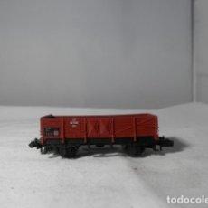 Trenes Escala: VAGÓN BORDE ALTO ESCALA N DE ARNOLD. Lote 246079005