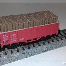Trenes Escala: ARNOLD N BORDE ALTO CON MADEROS -- L48-182 (CON COMPRA DE 5 LOTES O MAS, ENVÍO GRATIS). Lote 247172605
