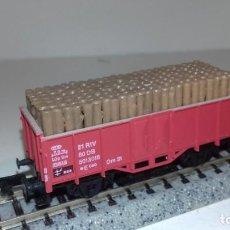 Trenes Escala: ARNOLD N BORDE ALTO CON MADEROS -- L48-183 (CON COMPRA DE 5 LOTES O MAS, ENVÍO GRATIS). Lote 247172760