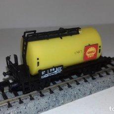 Trenes Escala: ARNOLD N CISTERNA 2 EJES SHELL -- L48-188 (CON COMPRA DE 5 LOTES O MAS, ENVÍO GRATIS). Lote 247174350