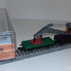 Trenes Escala: ARNOLD N GRUA Y VAGÓN DE AYUDA -- L48-190 (CON COMPRA DE 5 LOTES O MAS, ENVÍO GRATIS). Lote 247174955