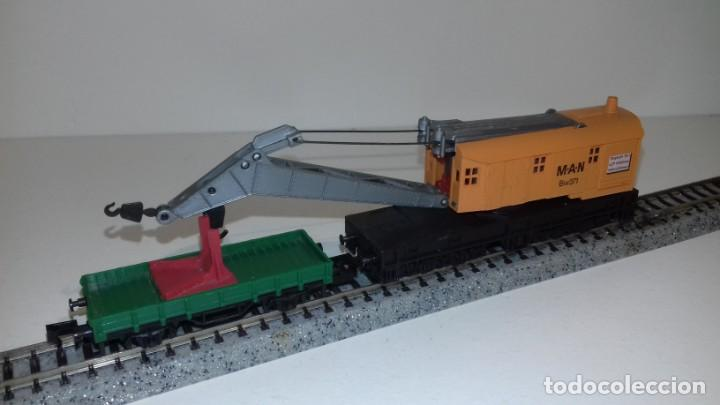 Trenes Escala: ARNOLD N grua y vagón de ayuda -- L48-190 (Con compra de 5 lotes o mas, envío gratis) - Foto 2 - 247174955