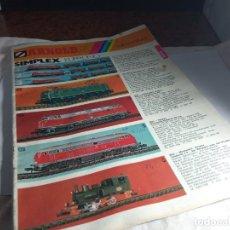 Trenes Escala: CATALOGO ESCALA N. Lote 262528995