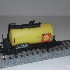 Trenes Escala: ARNOLD N CISTERNA 2 EJES SHELL -- L49-327 (CON COMPRA DE 5 LOTES O MAS, ENVÍO GRATIS). Lote 266138068