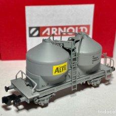 "Trenes Escala: ARNOLD HN6097 VAGÓN TOLVA CEMENTO ""ALFA"". Lote 269105498"