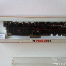 Trenes Escala: LOCOMOTORA DE VAPOR CON TÉNDER BR 18 DB - ARNOLD 2543. Lote 276210398