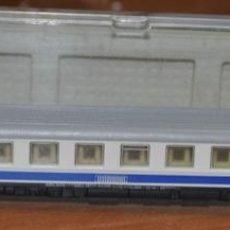 Trenes Escala: COCHE DE VIAJEROS 4 EJES 2ª CLASE TIPO 10000 DANONE DE RENFE, DE ARNOLD. ESC. N COMPATIBLE IBERTREN. Lote 280575878