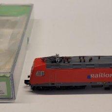 Trenes Escala: ARNOLD- LOCOMOTORA ELÉCTRICA SERIE 156 003-6 RAILION CON LA REFERENCIA HN2168, ESCALA N. Lote 286773143