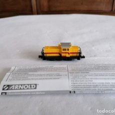 Trenes Escala: ARNOLD N HN2079 LOCOMOTORA TRACTORA DIÉSEL DHG 700 DILLINGER HÜTTER D17. Lote 287612323