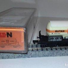 Trenes Escala: ARNOLD N CISTERNA SHELL BUTAN 4510 -- L50-230 (CON COMPRA DE 5 LOTES O MAS, ENVÍO GRATIS). Lote 287936833