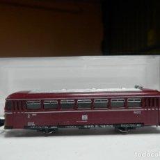 Trenes Escala: VAGÓN PARA AUTOMOTOR ESCALA N DE ARNOLD. Lote 295542233