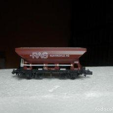 Trenes Escala: VAGÓN TOLVA ESCALA N DE ARNOLD. Lote 295542993