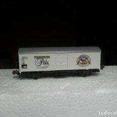 Trenes Escala: VAGÓN CERRADO ESCALA N DE ARNOLD. Lote 295543143
