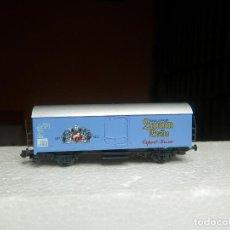Trenes Escala: VAGÓN CERRADO ESCALA N DE ARNOLD. Lote 295543188