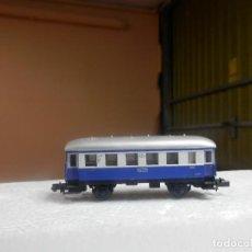 Trenes Escala: VAGÓN PASAJEROS 2 EJES ESCALA N DE ARNOLD. Lote 297074163