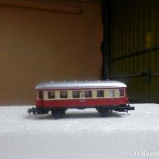 Trenes Escala: VAGÓN PASAJEROS 2 EJES ESCALA N DE ARNOLD. Lote 297074253