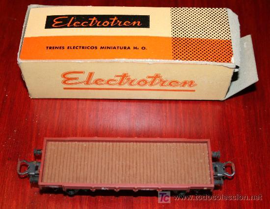 Trenes Escala: ELECTROTREN - VAGÓN ABIERTO - CON CAJA ORIGINAL - Foto 4 - 26924208