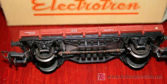 Trenes Escala: ELECTROTREN - VAGÓN ABIERTO - CON CAJA ORIGINAL - Foto 2 - 26924208