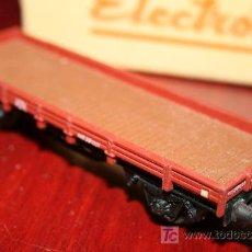 Trenes Escala: ELECTROTREN - VAGÓN ABIERTO - CON CAJA ORIGINAL. Lote 26924208