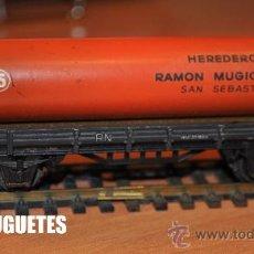 Trenes Escala: VAGON ELECTROTREN TUBO HEREDEROS RAMÓN MÚGICA. Lote 28286389