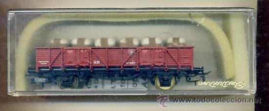 VAGON RENFE - CARGA ALGODON - ELECTROTREN 1106 - TREN FERROCARRIL (Juguetes - Trenes Escala H0 - Electrotren)