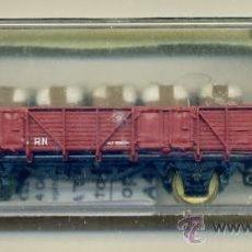 Trenes Escala: VAGON RENFE - CARGA ALGODON - ELECTROTREN 1106 - TREN FERROCARRIL. Lote 29635026