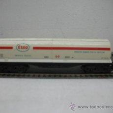 Trenes Escala: ELECTROTREN REF:5100 -VAGON CISTERNA ESSO -ESCALA H0-. Lote 30269066