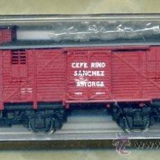 Trenes Escala: VAGÓN COMPAÑÍA NORTE - CEFERINO SÁNCHEZ / ASTORGA LEÓN - ELECTROTREN 1859 / AAFG - TREN FERROCARRIL. Lote 51688262