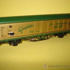Trenes Escala: ANTIGUO VAGON PUERTAS TELESCOPICAS EN ESCALA *H0* ELECTROTREN 30 ANIVERSARIO GONZÁLEZ 1957-1987.. Lote 34551099