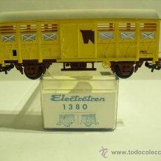 Trenes Escala: ELECTROTREN 1380 VAGON GANADERO SNCF - ESC H0 . Lote 36975761