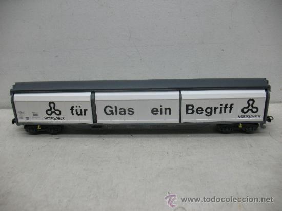 ELECTROTREN REF: 5519 K - VAGÓN DE MERCANCÍAS FÜR GLAS EIN BEGRIFF- ESCALA H0 (Juguetes - Trenes Escala H0 - Electrotren)