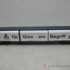 Trenes Escala: ELECTROTREN REF: 5519 K - VAGÓN DE MERCANCÍAS FÜR GLAS EIN BEGRIFF- ESCALA H0. Lote 37815426