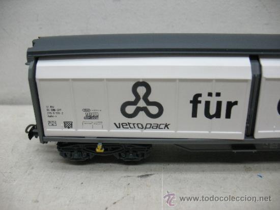 Trenes Escala: Electrotren Ref: 5519 k - Vagón de mercancías fÜR GLAS EIN bEGRIFF- Escala H0 - Foto 2 - 37815426