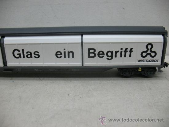 Trenes Escala: Electrotren Ref: 5519 k - Vagón de mercancías fÜR GLAS EIN bEGRIFF- Escala H0 - Foto 3 - 37815426