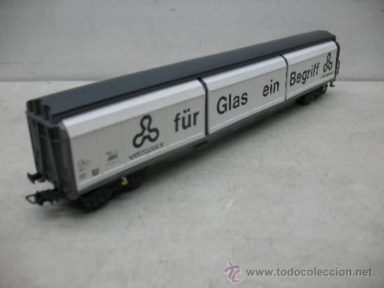 Trenes Escala: Electrotren Ref: 5519 k - Vagón de mercancías fÜR GLAS EIN bEGRIFF- Escala H0 - Foto 5 - 37815426