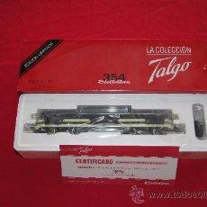 Treni in Scala: TALGO PENDULAR 354 VIRGEN DE BEGOÑA ELECTROTREN ALTERNA DIGITAL MATERIAL NUEVO PRECINTADO. Lote 219974331