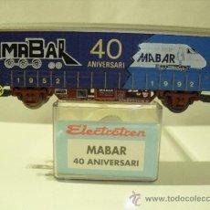 Trenes Escala: ELECTROTREN,VAGON MABAR 40 ANIVERSARIO 1952,1992. Lote 38095193