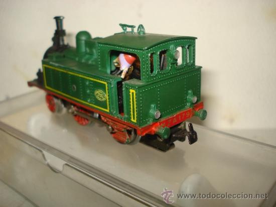 Trenes Escala: Antigua Locomotora de la MZA Escala *H0* Corriente Alterna Referencia 4002 de ELECTROTREN - Foto 6 - 38500223