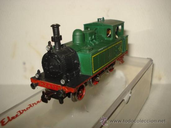 Trenes Escala: Antigua Locomotora de la MZA Escala *H0* Corriente Alterna Referencia 4002 de ELECTROTREN - Foto 5 - 38500223
