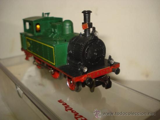 Trenes Escala: Antigua Locomotora de la MZA Escala *H0* Corriente Alterna Referencia 4002 de ELECTROTREN - Foto 4 - 38500223