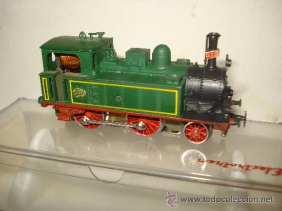 Trenes Escala: Antigua Locomotora de la MZA Escala *H0* Corriente Alterna Referencia 4002 de ELECTROTREN - Foto 3 - 38500223