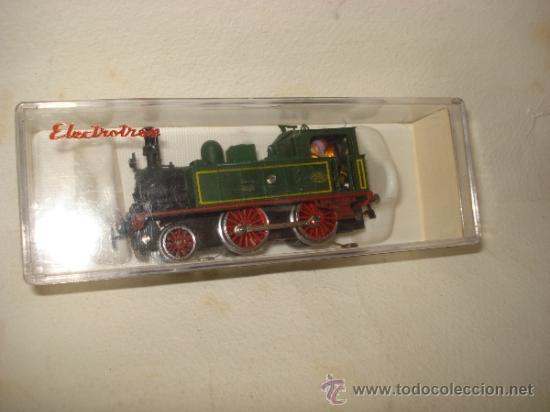 Trenes Escala: Antigua Locomotora de la MZA Escala *H0* Corriente Alterna Referencia 4002 de ELECTROTREN - Foto 7 - 38500223