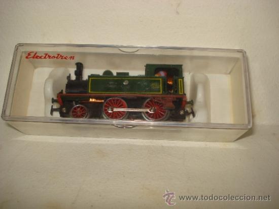 Trenes Escala: Antigua Locomotora de la MZA Escala *H0* Corriente Alterna Referencia 4002 de ELECTROTREN - Foto 2 - 38500223