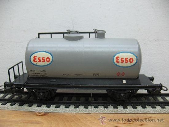 ELECTROTREN -VAGON CISTERNA ESSO-ESCALA H0- (Juguetes - Trenes Escala H0 - Electrotren)