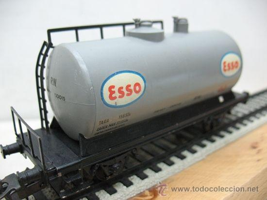 Trenes Escala: ELECTROTREN -VAGON CISTERNA ESSO-ESCALA H0- - Foto 5 - 38509556