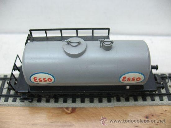 Trenes Escala: ELECTROTREN -VAGON CISTERNA ESSO-ESCALA H0- - Foto 4 - 38509556