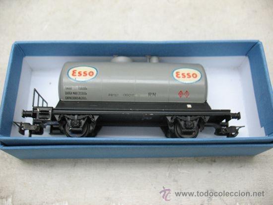 Trenes Escala: ELECTROTREN -VAGON CISTERNA ESSO-ESCALA H0- - Foto 7 - 38509556